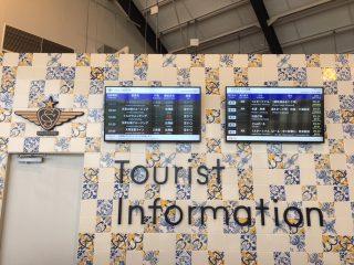 【Tourist Information】バス停とバスの時刻表