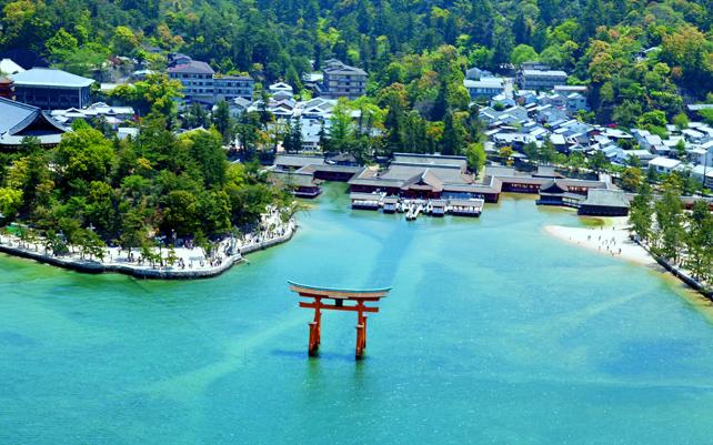 安芸の宮島に泊まる 大和ミュージアム・広島2日間イメージ