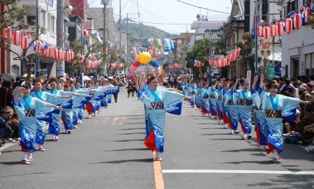 牛深ハイヤ祭り フリープランイメージ