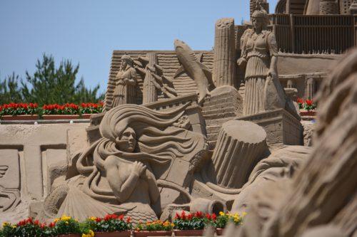 日本三大砂丘の一大イベントへ!吹上浜砂の祭典イメージ