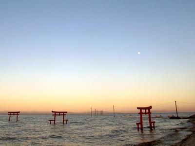 大魚神社の海中鳥居イメージ